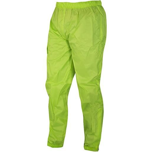 Prexport pantalone antipioggia prexport rain stop giallo fluo