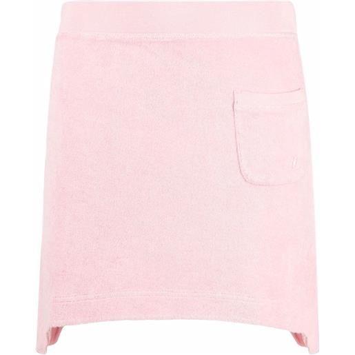 Helmut Lang minigonna asimmetrica - rosa