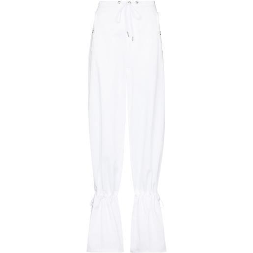 Dion Lee pantaloni svasati - bianco