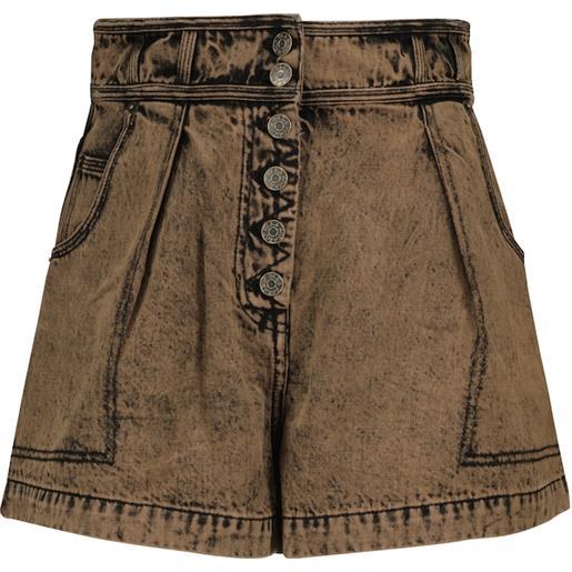 Ulla Johnson shorts di jeans ares