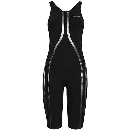 Jaked costume bagno competizione vestibilità posteriore aperta one 20 black