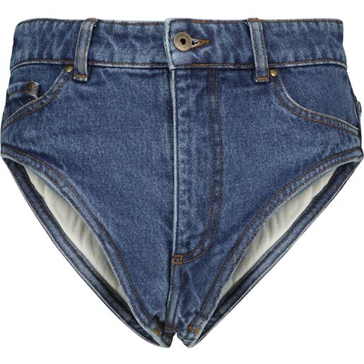Y/PROJECT shorts di jeans