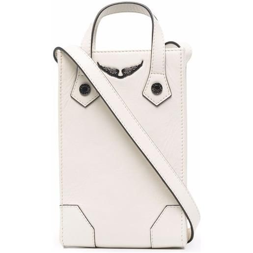 Zadig&Voltaire pouch sunny - bianco
