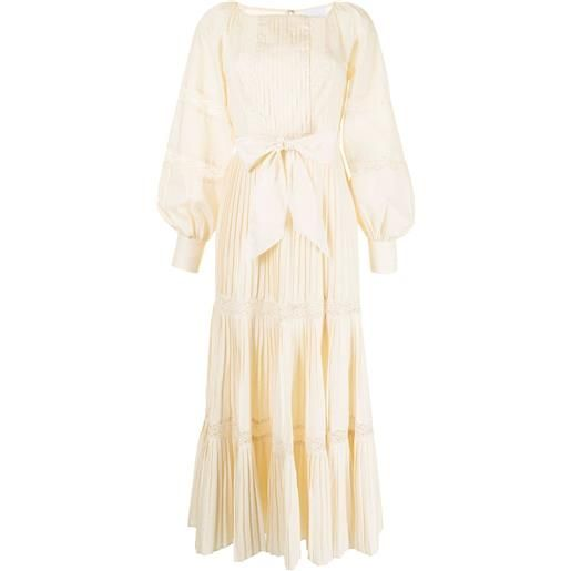 Alice McCall abito lungo blissful song - bianco