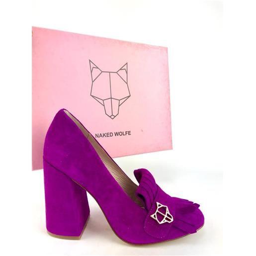 NAKED WOLFE scarpa viola