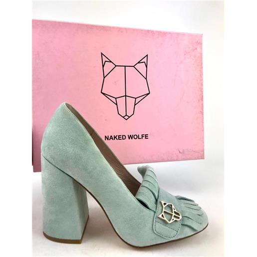 NAKED WOLFE scarpa celeste