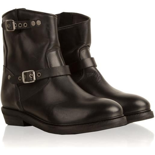 CATARINA MARTINS road leather low boot