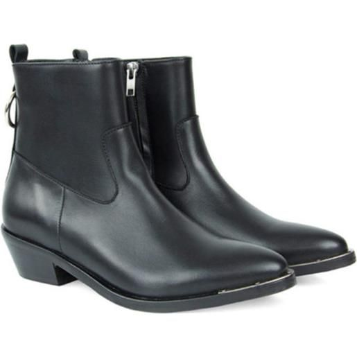 CATARINA MARTINS abbey leather boot w / black
