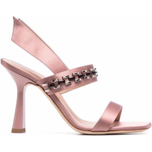 Alberta Ferretti sandali con cinturino posteriore - rosa