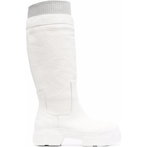 Vic Matie stivali al ginocchio quintino - bianco
