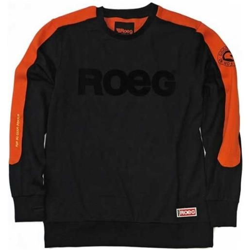 Roeg Moto Co - maglia roeg moto randy nero arancione