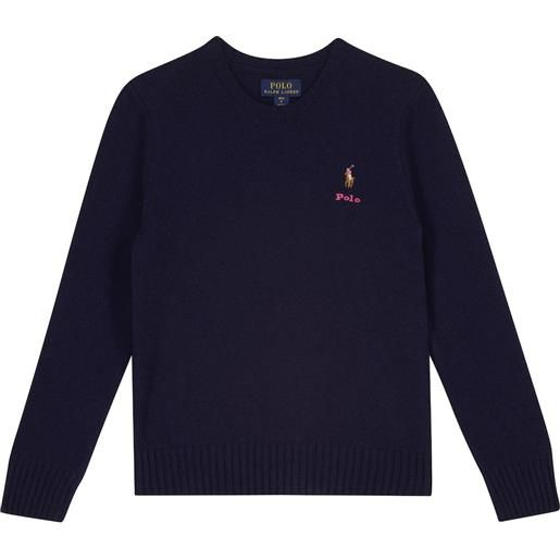 Polo Ralph Lauren Kids pullover in lana e cashmere