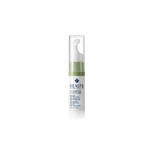 Rilastil camouflage fluido correttivo localizzato antirossore verde 5 ml