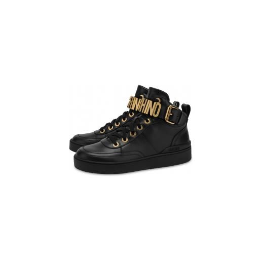 Moschino sneakers in nappa basket