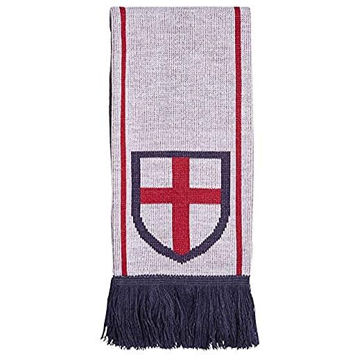 adidas cf scarf eng, sciarpa sportiva unisex - adulto, white/team power red/team navy blue, osfm