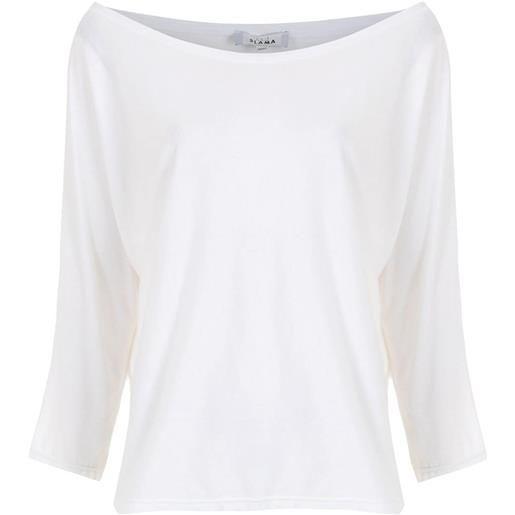 Amir Slama t-shirt con spalle scoperte - bianco