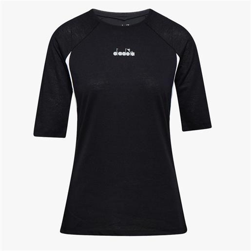 Diadora t-shirt be one da donna black