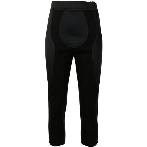 Dolce & Gabbana leggings crop - nero
