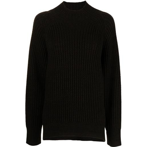 Proenza Schouler White Label maglione a coste - marrone