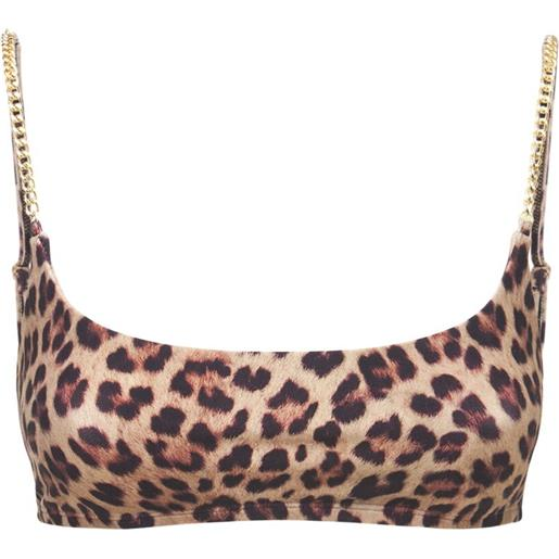 WEWOREWHAT top sportivo cami con catena