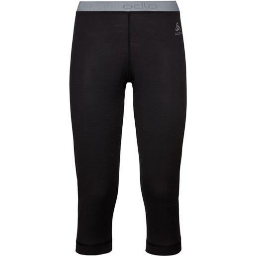 Odlo leggings natural 100% merino warm l black