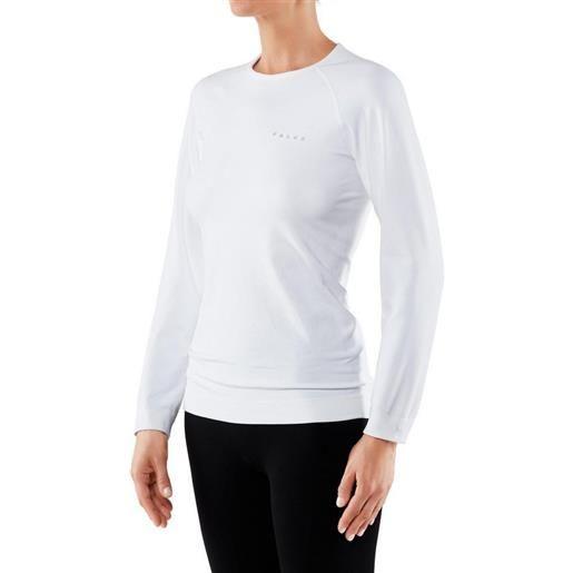 Falke maglietta intima manica lunga maximum warm comfort xs white