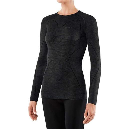 Falke maglietta intima manica lunga lana tech xs black