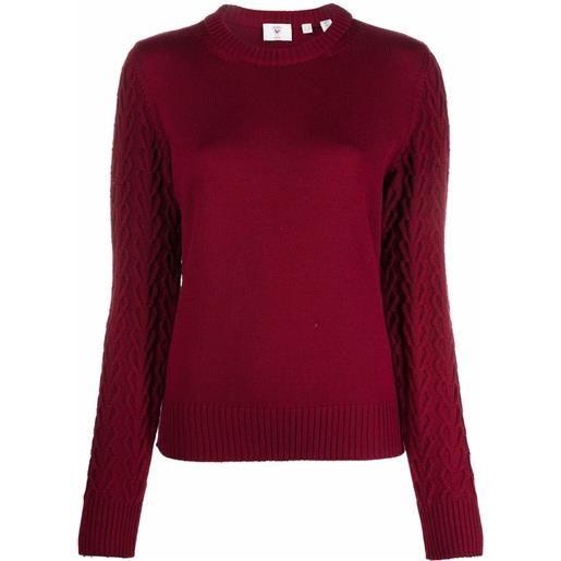 Rossignol maglione con scollo a u - 311 cherry