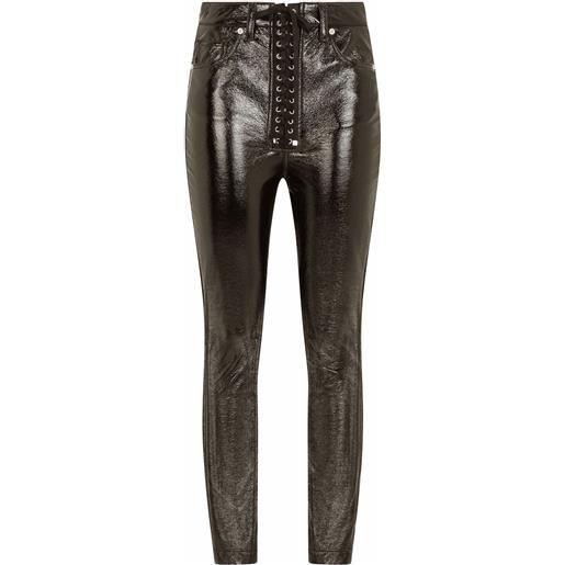 Dolce & Gabbana pantaloni skinny - nero