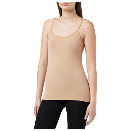 FOCENZA luigi 1713 top, blu (blau (marine-schwarz 338/001), 40 (pacco da 2) donna