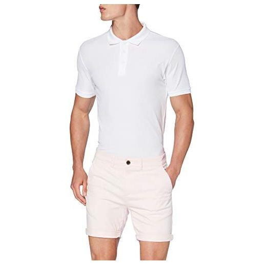 Rhino twill shorts pantaloncini da golf, marina militare, w32 uomo