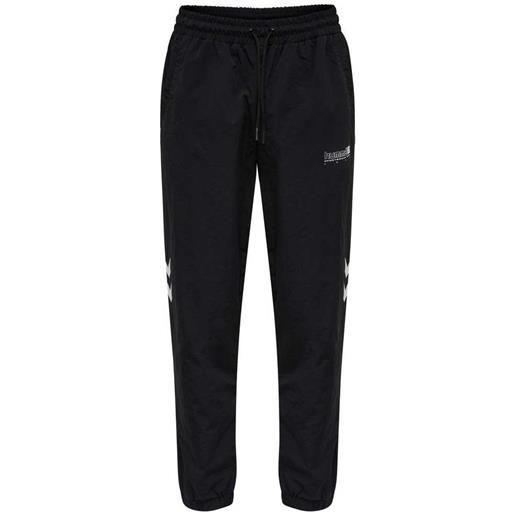 Hummel pantaloni della tuta legacy musa woven regular s black