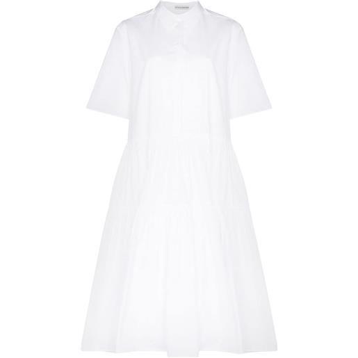 Cecilie Bahnsen chemisier con cintura primrose - bianco
