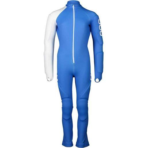 Poc tuta sci skin gs jr 130 cm natrium blue / hydrogen white