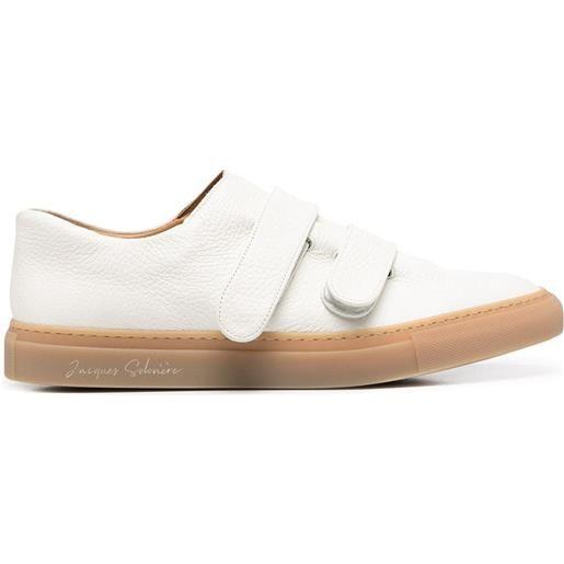 Mackintosh sneakers con strappo - bianco