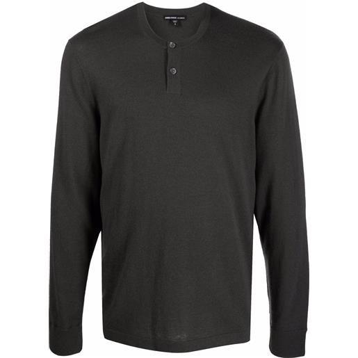 James Perse maglione girocollo - grigio