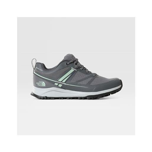 TheNorthFace the north face litewave futurelight™ scarpe donna zinc grey/green mist taglia 36 donna