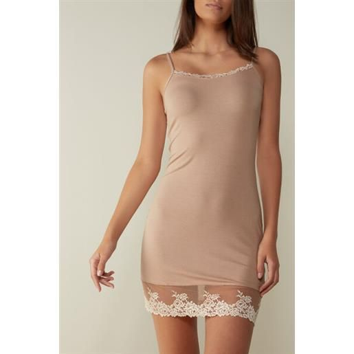 Intimissimi sottoveste in micromodal pretty flower naturale