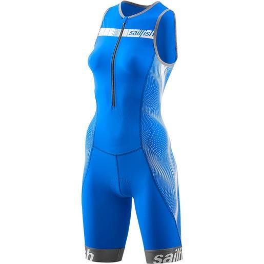 Sailfish body triathlon senza maniche comp xl blue / white