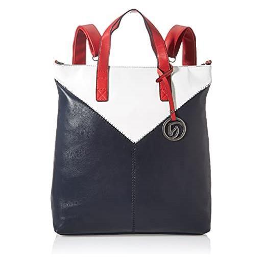 Remonte q0661, borsa a zaino. Donna, pacifico/bianco/rosso/14, taglia unica