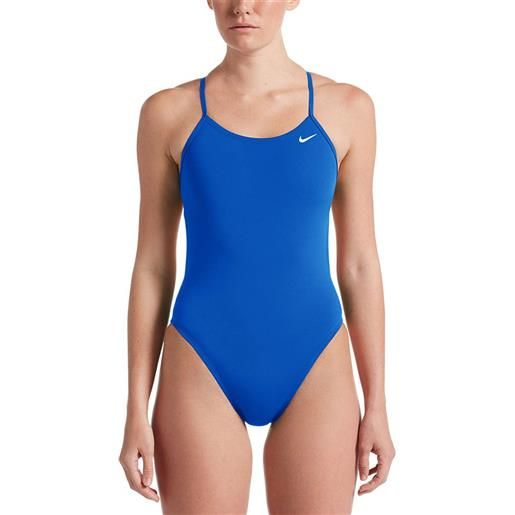 Nike Swim costume intero hydrastrong solids cut out us 30 game royal
