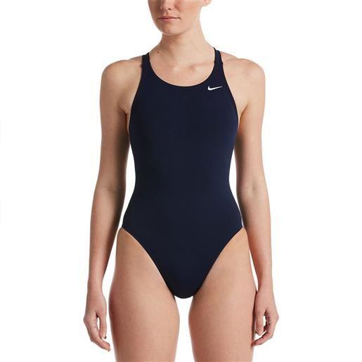 Nike Swim costume intero hydrastrong solids schiena fast 2.0 us 30 midnight navy