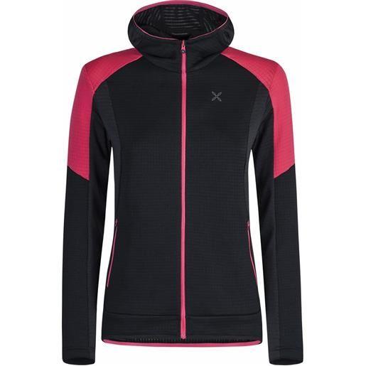 Montura stretch color hoody jacket woman pile tecnico donna