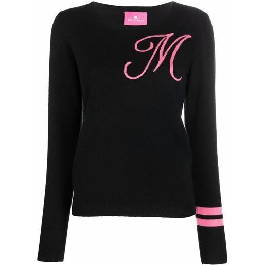 Dee Ocleppo maglione con ricamo m - nero