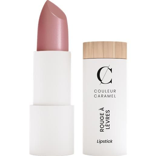 Couleur Caramel pearly lipstick - 256 incandescent beige