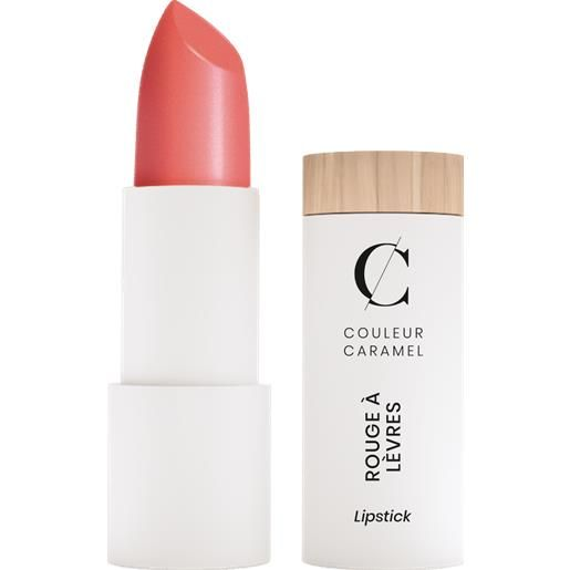 Couleur Caramel pearly lipstick - 506 coral rose