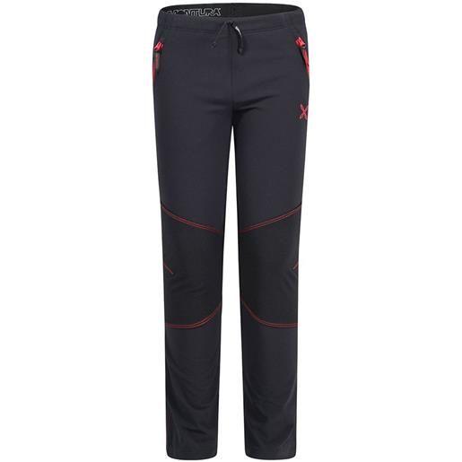 Montura pantaloni hiking 135 cm black / red