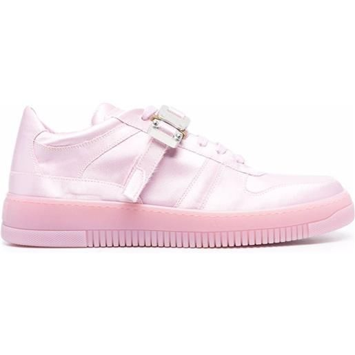 1017 ALYX 9SM sneakers con fibbia - rosa