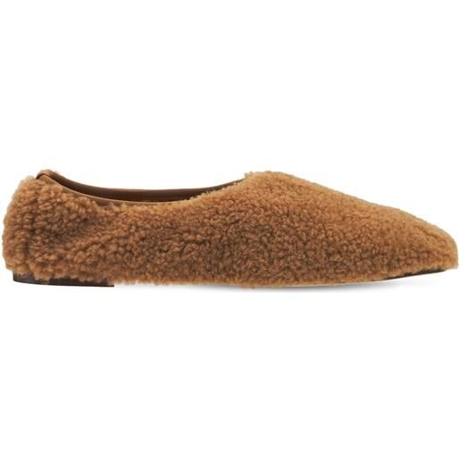 EMME PARSONS ballerine in shearling 10mm