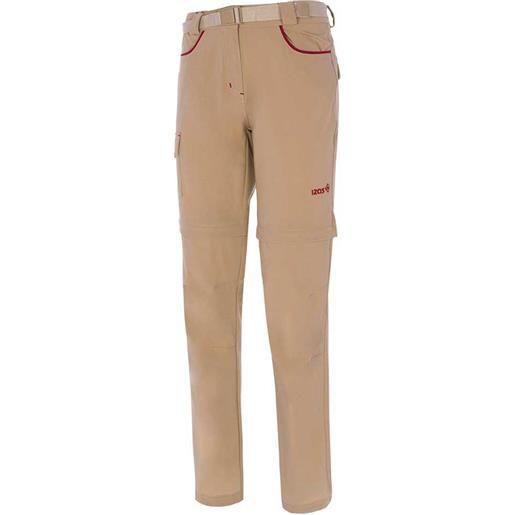 Izas pantaloni daven ii xs stone / mineral red